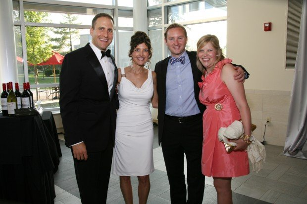 David Bruns, Leigh Deusinger, Tom and Megan Holmes