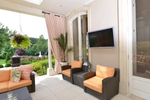 Outdoor television by Life Media