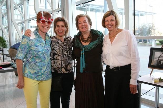 Madeline Hawn, Ann Kiburz, Joan Kiburz, Trudy Valentine