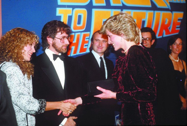 DIANA AT FILM PREMIERE