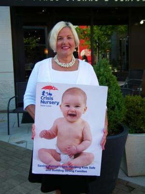 Crisis Nursery board member Millie Cain