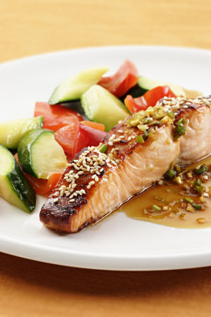 Honey-Soy Salmon