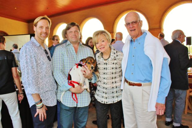 James L. Mitchell, Mike L. Garland, Winnie the Pup, Helane and Warner Isaacs