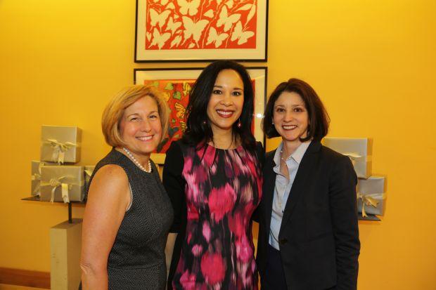 Sally Katzif, Dr. Eva Frazer, Veronica McDonnell