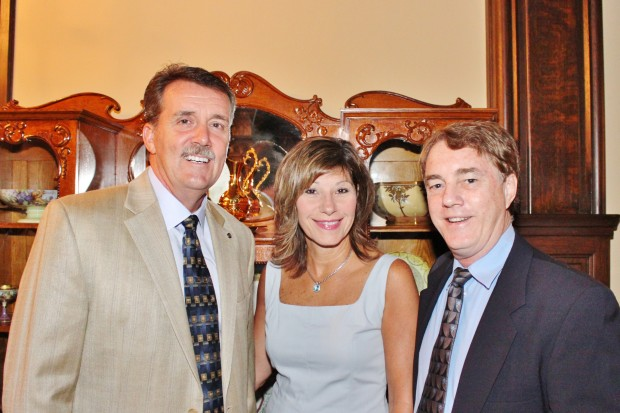 Dennis and Michelle Jenkerson, Jim Galligan