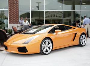 Lamborghini Dealership Opening