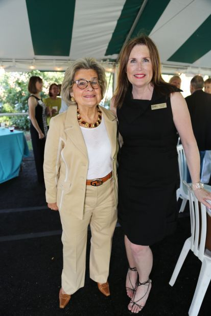 Barbara B. Goodman , Cynthia Prost president Arts and Education