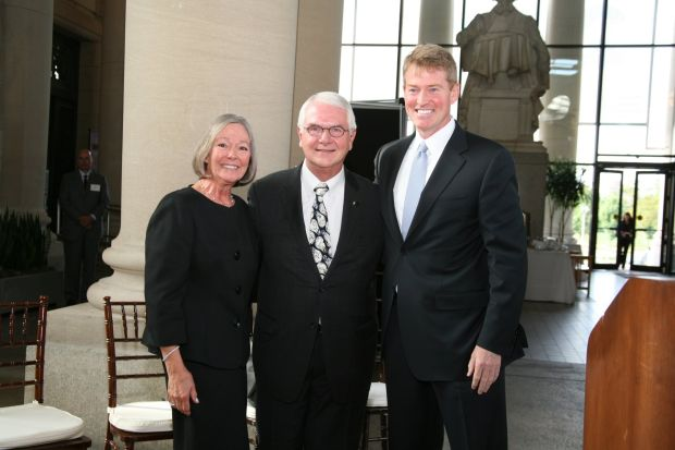 Carol and Tom Voss, Kris Koster