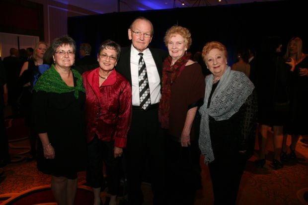 Nora O'Donnell, Susan and Dan Luedke, Sally Bliss, Marise Hilton