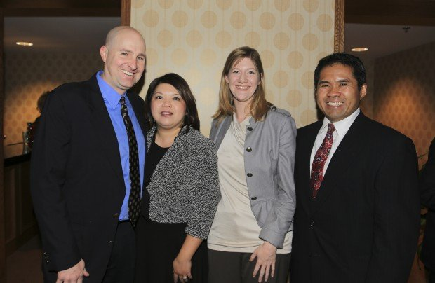Dave and Trish Muyco-Tobin, Lisa Watson, Michael de los Reyes