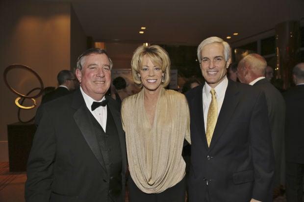 Mike Keller, Ann and Steve Desloge