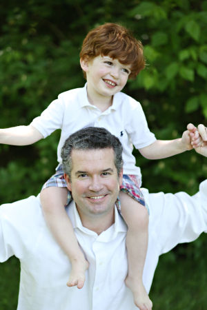 Greg Vatterott with his son Gregory.JPG