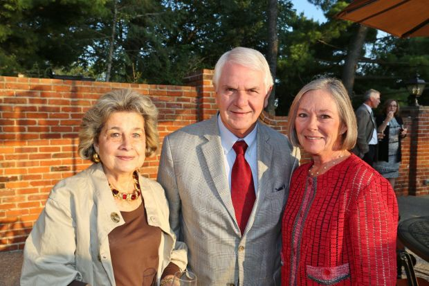 Barbara B. Goodman, Tom and Carol Voss