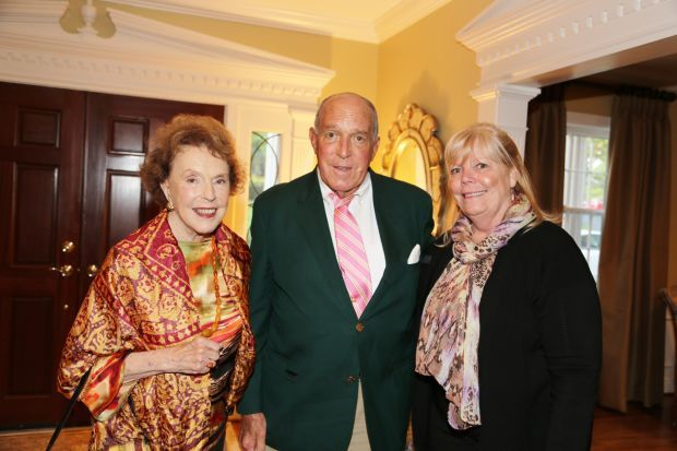 Elizabeth Sayad, John Meier III, Pat Tichacek