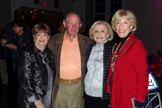Harriet Lipnick, Al Siwak, Lee Bohm, Nancy Siwak
