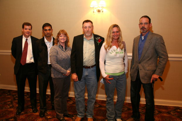 Jack Riegel, Paul Patel, Julie Brooks Harris, Tony and Stacy McWhorter, Kent Elmore