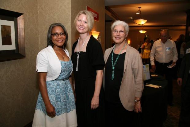 Melba Hale, Kristine Ward, Peggy Mitchell