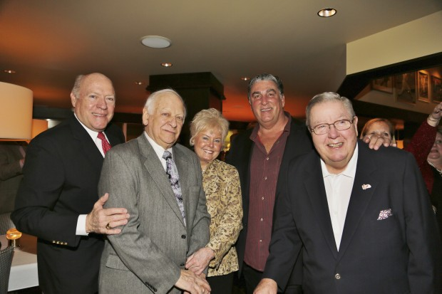 Darryl Ross, Charles and Shirley Drury, Jack Clark, Jay Randolph