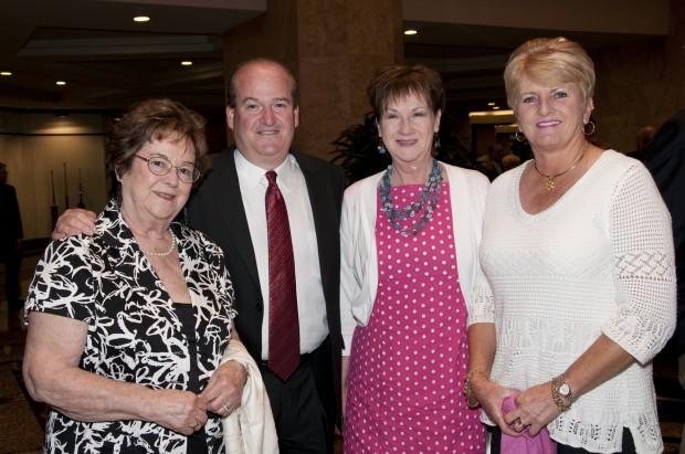 Viriginia Burkemper, Ed Stevens, Mary Burke, Linda Stevens