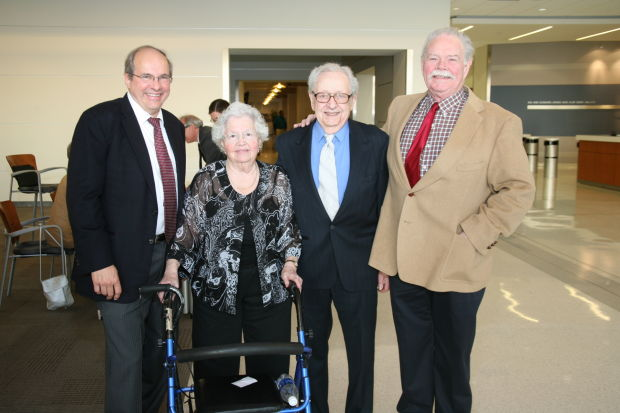 Bill Freivogel, Rose and Charles Klotzer, Avis Meyer