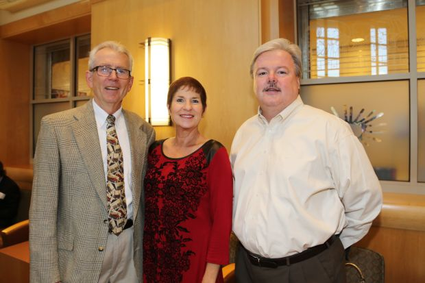 Dr. Dennis O'Connor, Shelle and Tim Dwyer