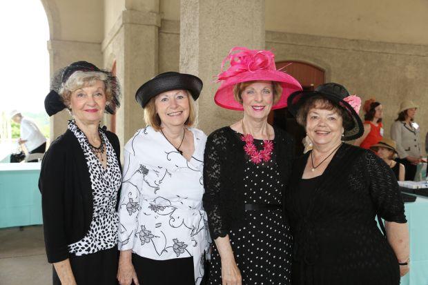 Daphne Sumner, Carol Prince, Hazel Wade, Sue Bechtold