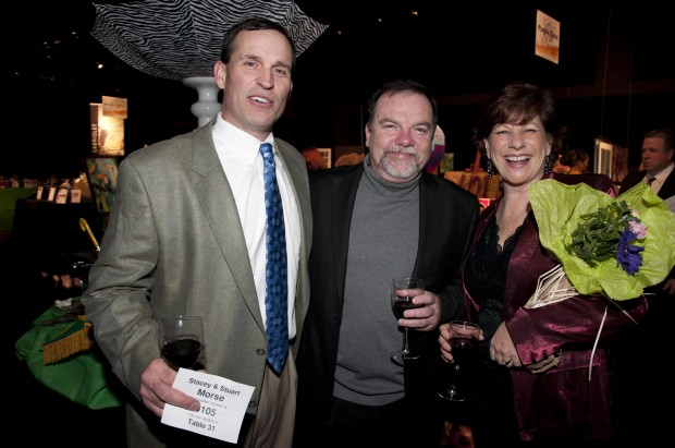 Stuart Morse, Mark and Ellen Levine