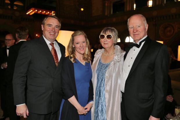Mat Turner, AnnMarie Behm, Alexandra and Lee Bunham