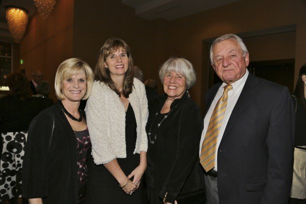 Chris Baker, Sandra Baker, Lucy and Jim Baker