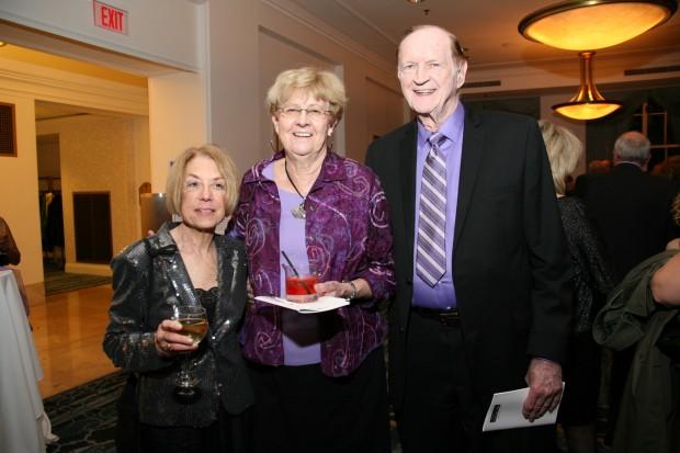 Judy Miniace, Margo Dershan, Ken Curtis