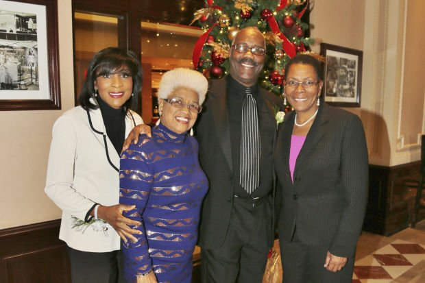 Shirley Washington, Mary Cannon, Ron Hines, Bonita Cornute