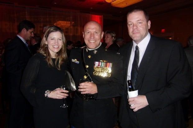 Colleen Rossomanno, Lt. Col. Shane Tomko, Ryan Rossomanno