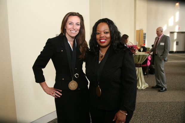 Honoree Shannon Bagley, Honoree Nicole Colbert-Botchway