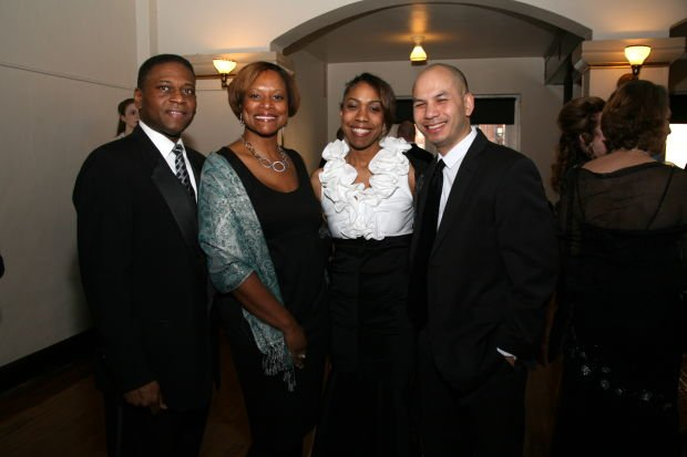 Keith and Dana Lanier, Lakricia and Andrew Cox