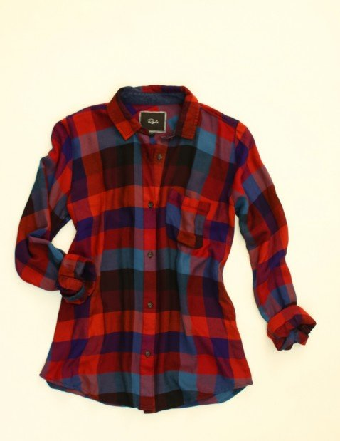 Look 1 Rails shirt, $125, Esther