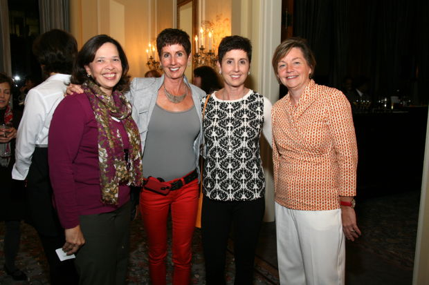 Toni Hunt, Kathy Diemer, Dr. Pat McGuire, Maureen Herrmann