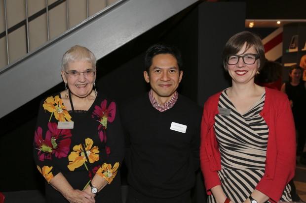 Norma Vance, Tuan Nguyen, Ida McCall