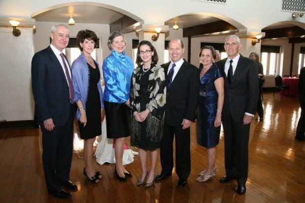 Bob Bassett, Vicki Pohlman, Jane Gleason, Christy Garesche, Marc Boguslaw, Edna Mae Graham, Marcy Graham