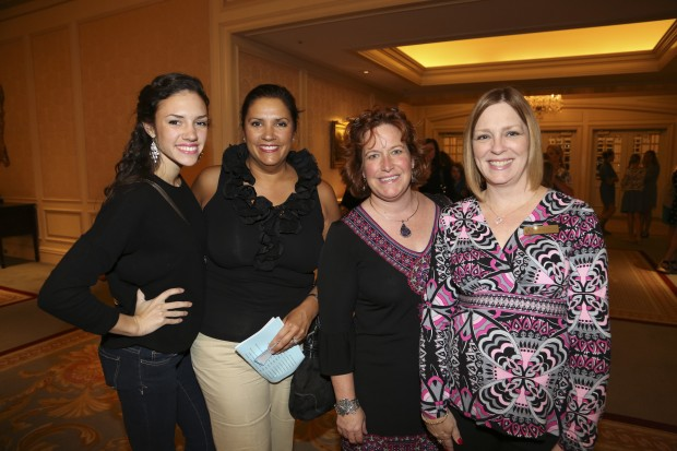 Lily and Becky Fitzgibbins, Helen Berger, Melody Wintz-Hostetler
