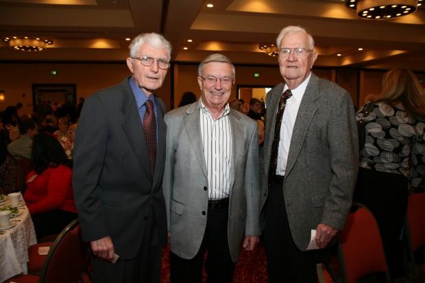 Bob Ebert, Roger Fogelbach, Ed Ruhlman