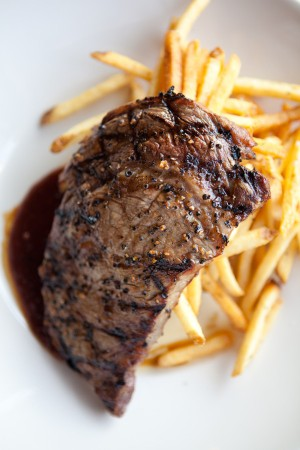 Rib Eye Steak with Frites