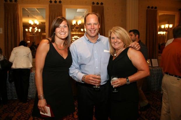 Erin Jones, Steve and Lori Hampel