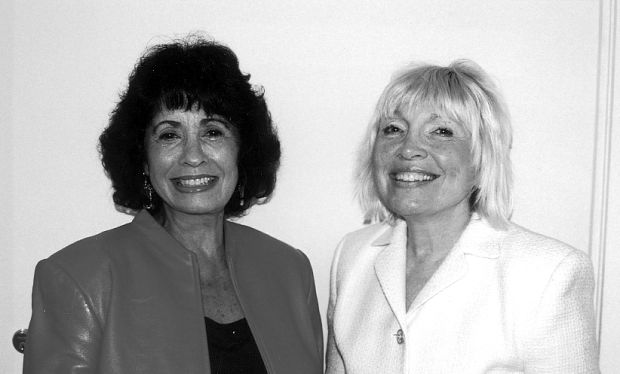 Mary Strauss and Dr. Marlene Birkman
