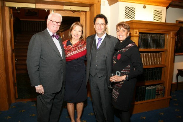 Dr. Patrick and Mary Ann Hogan, Tony Kushner, Marilyn Sheperd