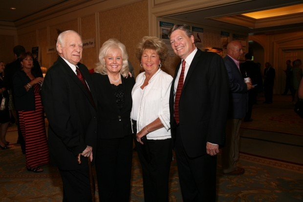 Charles and Shirley Drury, Pat Dino, Mark Sauerburger