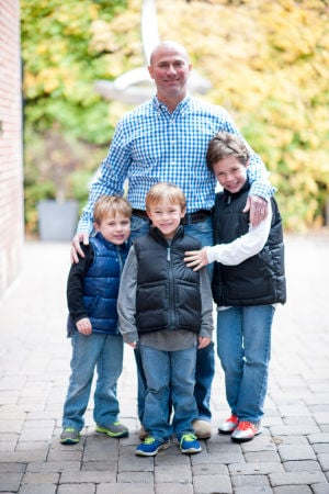 Monte with his sons Jacob, Ian and Nathan Sandler.jpg