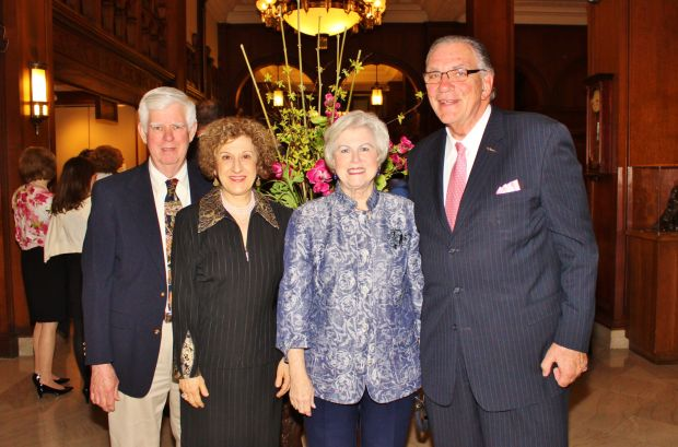 Thomas and Patricia Etter, Dr. Dennis and Monica Golden