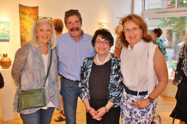 Marcy and Mark Hartstein, Alren Chaleff, Carole Levin