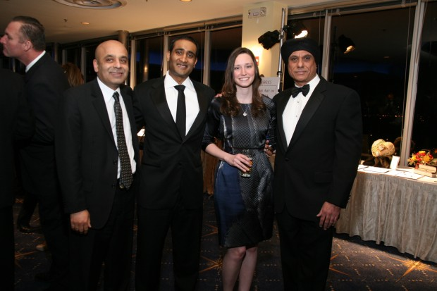 Yogi Patel, Chandu and Lauren Vemuri, Jas Singh