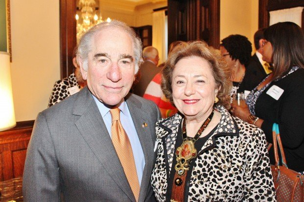 Ambassador Sam and Marilyn Fox